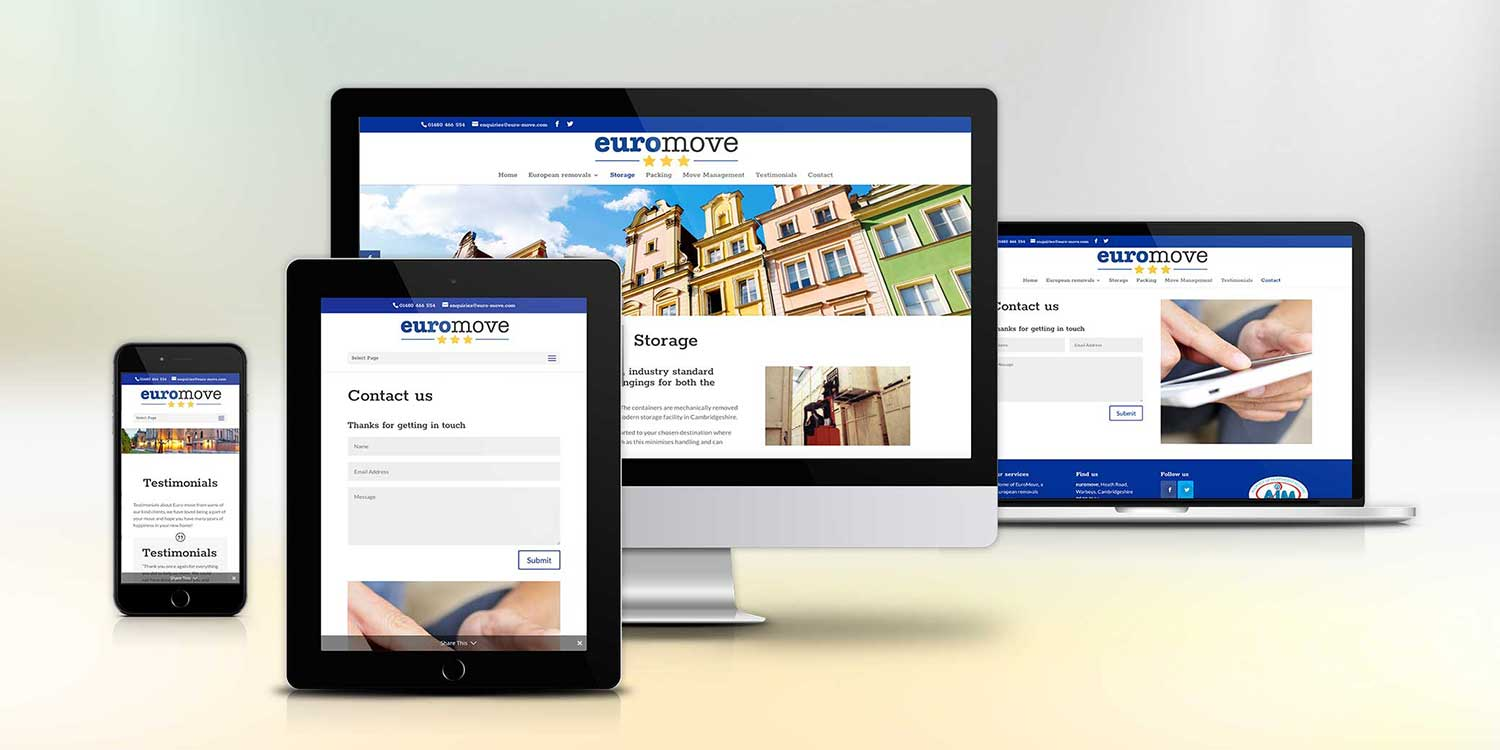 Euro Move website